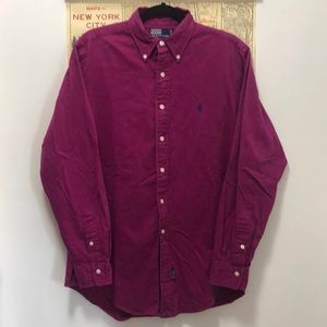 Vintage Polo Long Sleeve Button Down